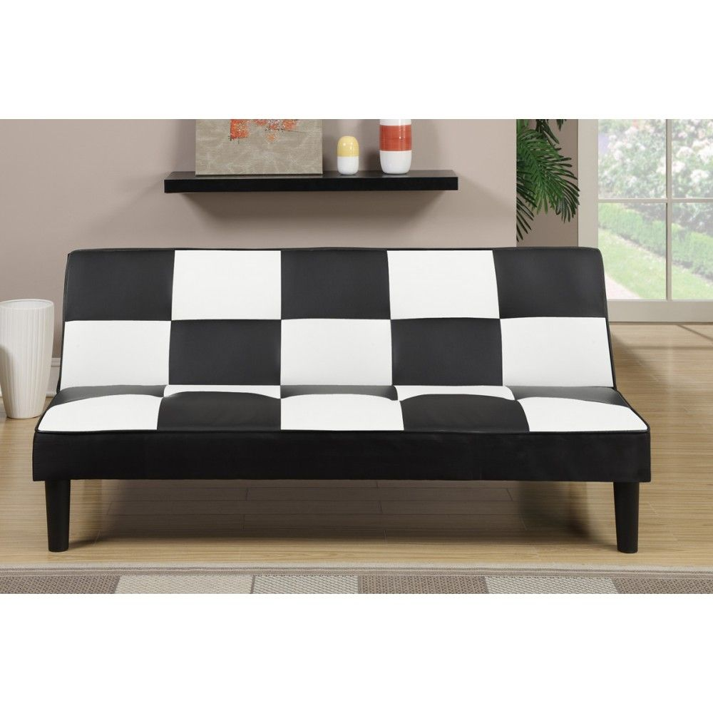 Adjustable Sofa In Black White Checker Black And White Sofa Sofa Bed Living Room Best Leather Sofa
