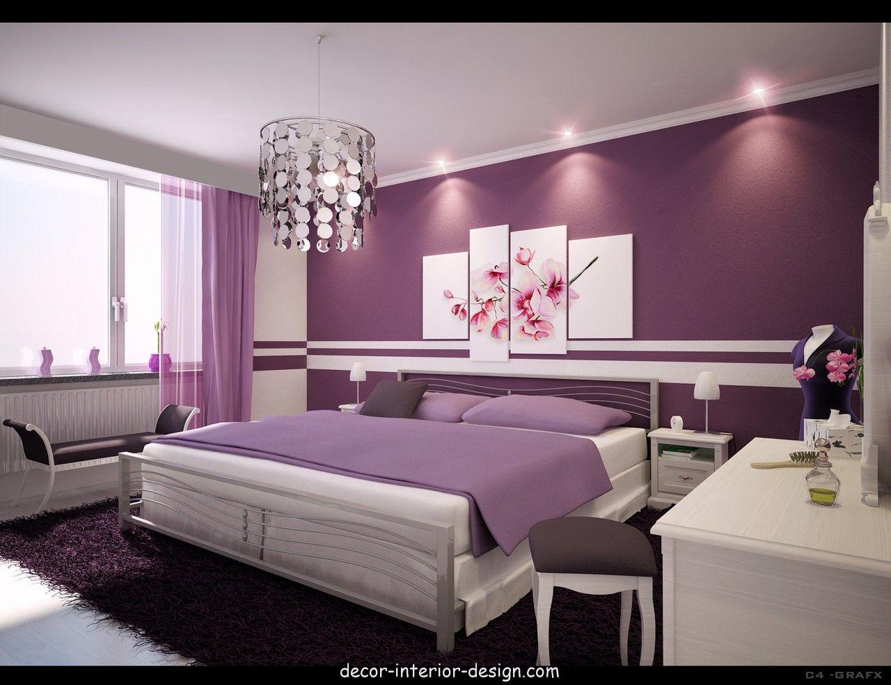 Bedroom interior design - Home decor and interior design