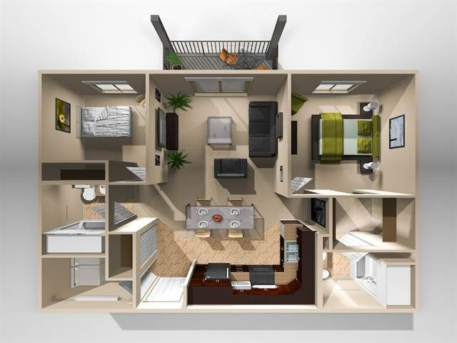 2 Bedroom Apartment Floor Plans Yahoo Image Search Results