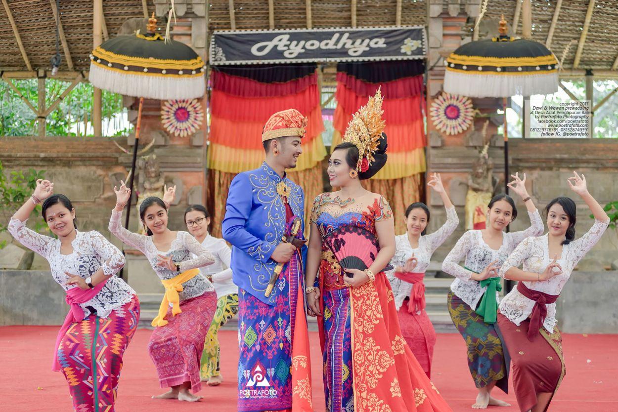 Pakaian Adat Pernikahan Bali