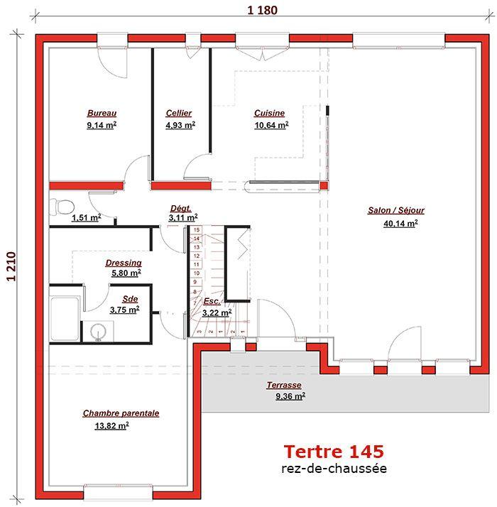 Cette maison moderne aux volumes cubiques offre une - Surface habitable minimum d une chambre ...