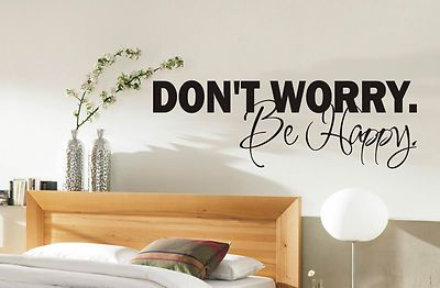 Be Hy Wall Sticker Quote Bedroom Living Room Stickers 001