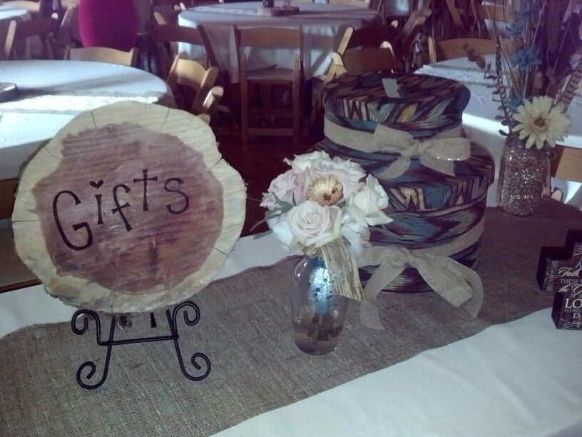 Gift table Wedding Ideas Pinterest