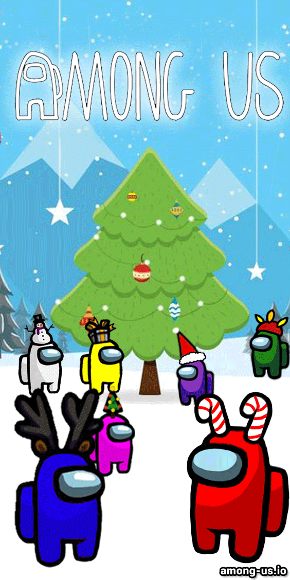 Among Us Game Christmas In 2020 Christmas Wallpaper Pretty Wallpaper Iphone Rainbow Wallpaper Iphone Warm and festive, our among us christmas stockings will liven up any fireplace. among us game christmas in 2020