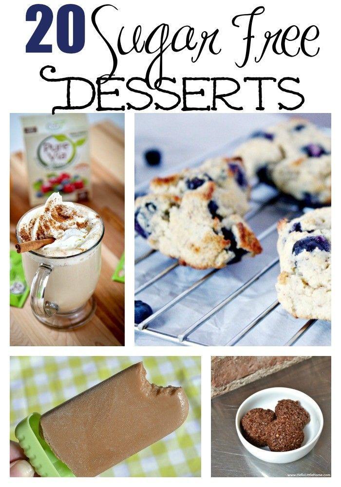 20 Sugar Free Desserts Sugar free desserts Sugar free and Sugaring