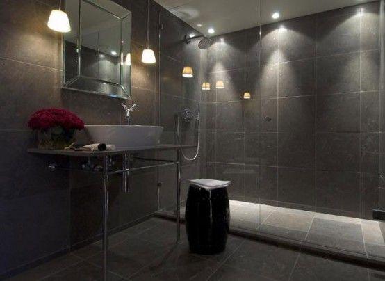 Nice 76 Elegant Masculine Bathroom Decorating Ideas   Decorating Ideas