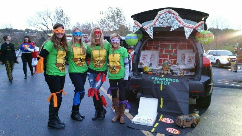Tmnt 2020 Halloween Trick Or Treat Teenage Mutant Ninja Turtle, trunk or treat | Trunk or treat