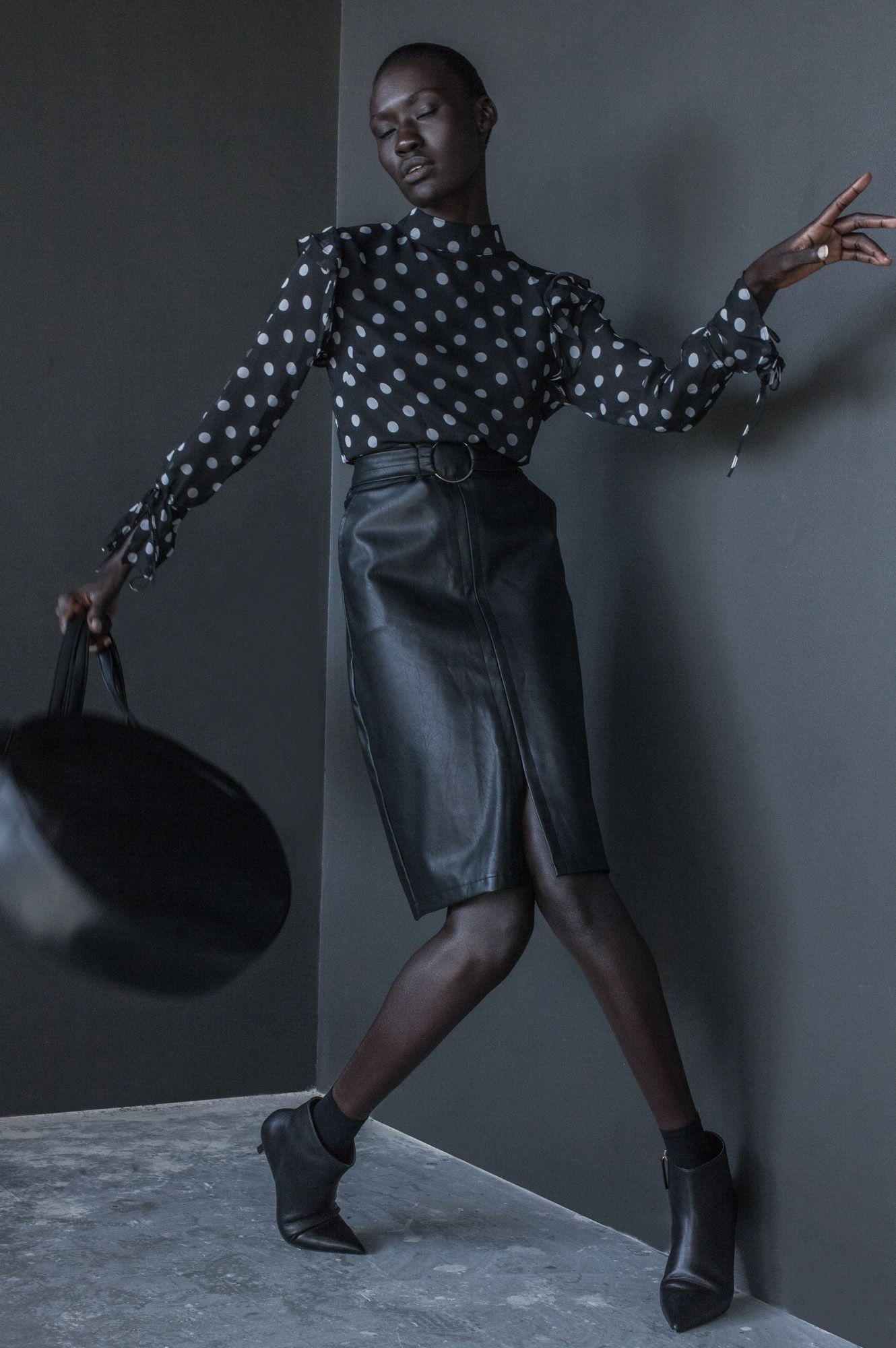 CALL OUT MY NAME / VIVIAN DE WAAL | Fashion Editorial: Noir