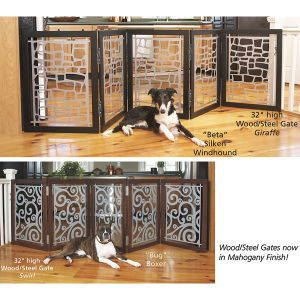 32 Inch High Wood Pet Gate  from @ICOD_Catalog