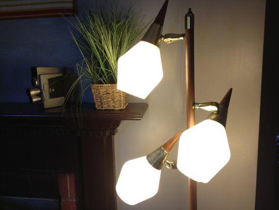 Mid Century Modern Floor Lamp Three Tier Floor Lamp On Etsy 132 54 Aud Mid Century Modern Floor Lamps Modern Floor Lamps Vintage Floor Lamp