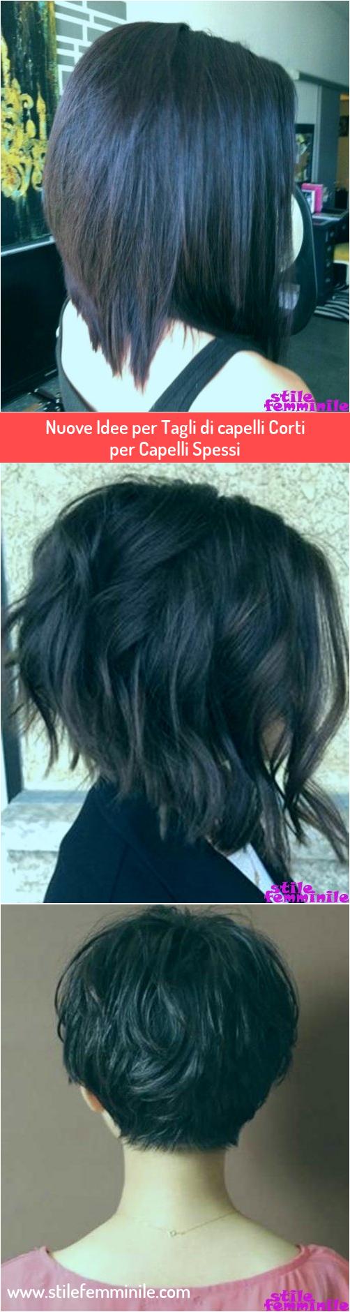 Photo of Nuove idee per tagli di capelli corti per capelli spessi