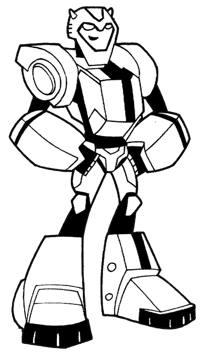 How to Draw BumbleBee from Transformers with Step by Step Drawing ...