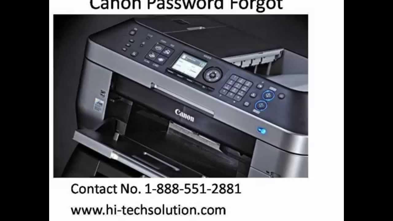 how to reset canon printer wifi
