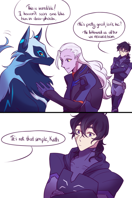 Keitor Request Lotor And Keith Maybe With Keith S Space Wolf I Ve Been Wanting To Draw Lotor With This Good Boy Fo Voltron Comics Voltron Memes Voltron