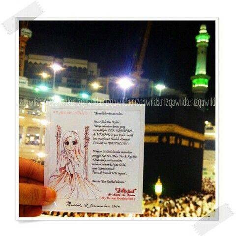 Someday with my husband, insyaAllaah #ka'bah #mekkah