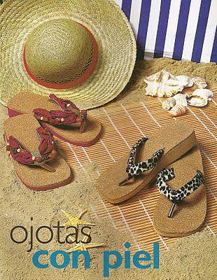 DTODOMANUALIDADES...................: Como hacer lindas sandalias