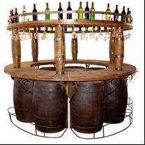 دكوراسيون داخلي خانه Barrel Bar Wine Barrel Bar Wine Barrel