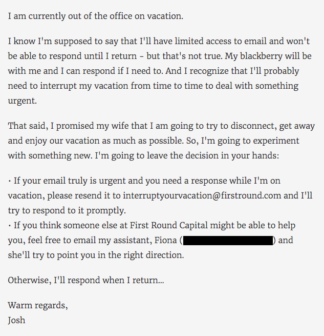 15 Funny Out of Office Messages to Inspire Your Own [+
