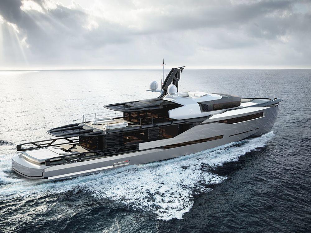 First Look Aeon 380 Superyacht Concept Yacht Design Boat