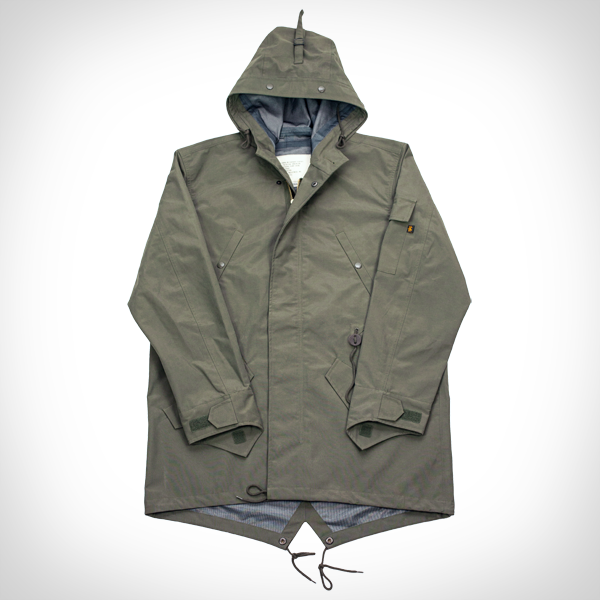 Mens Waterproof Fishtail Parka
