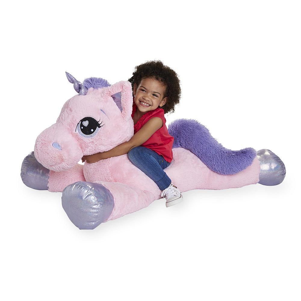 Toysrus Giant Stuffed Animals Unicorn Toys Pet Toys [ 1000 x 1000 Pixel ]