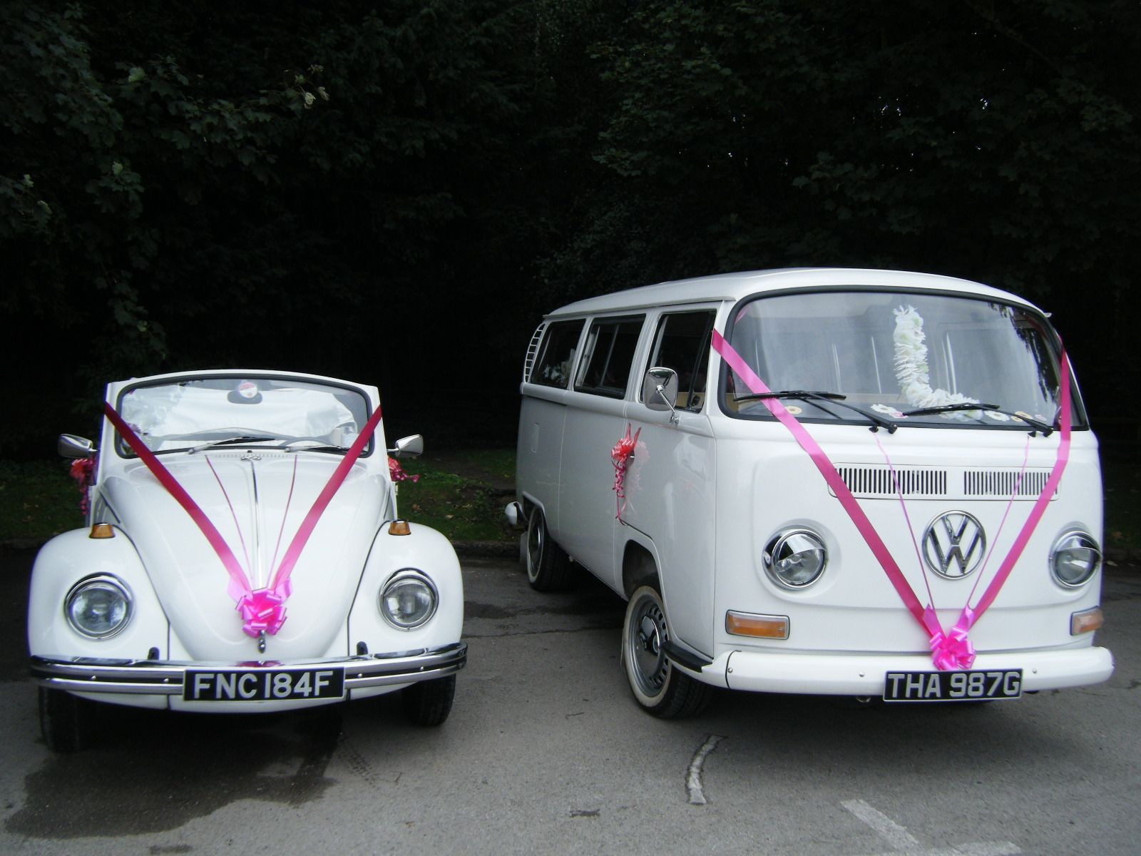 Vw Beetle/Vw Camper Bus | North East Wedding Car Hire for Durham ...