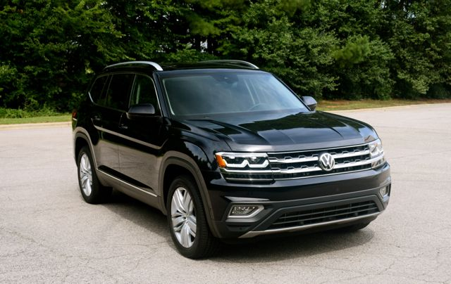 Behind The Wheel 2018 Volkswagen Atlas Volkswagen Towing New Suv
