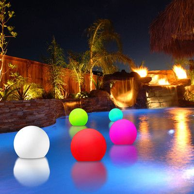 Freeport Christmas Lights 2020 Freeport Park Solon Battery Powered LED Outdoor Floating Light