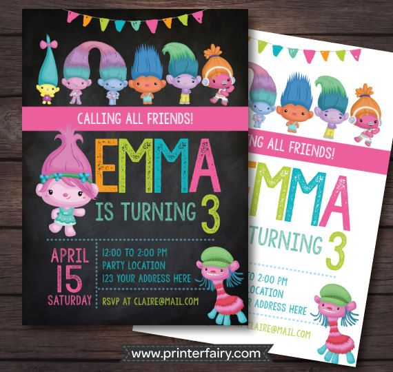 The BIGGEST And BEST Dreamworks Trolls Birthday Party Supplies Guide