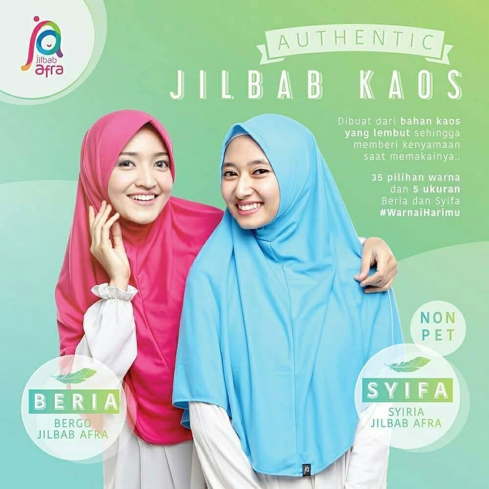 Cari Jilbab Bergo Daily Ya Di Jilbabafra Ajaa Pelopornya Sejak Lebih Dr 2 Tahun