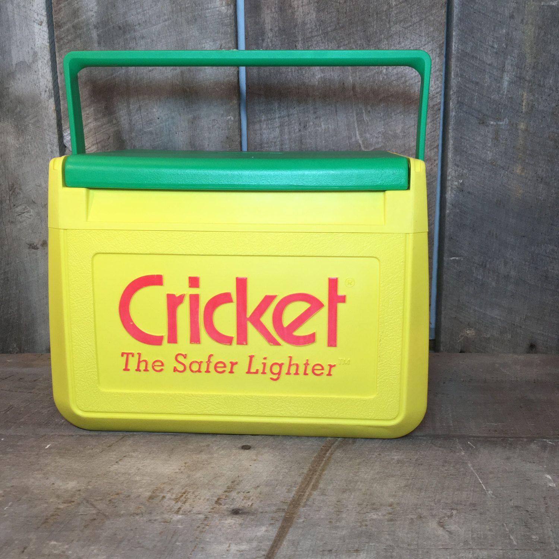 Vintage Coleman cooler vintage cricket the safer by thisoldnest