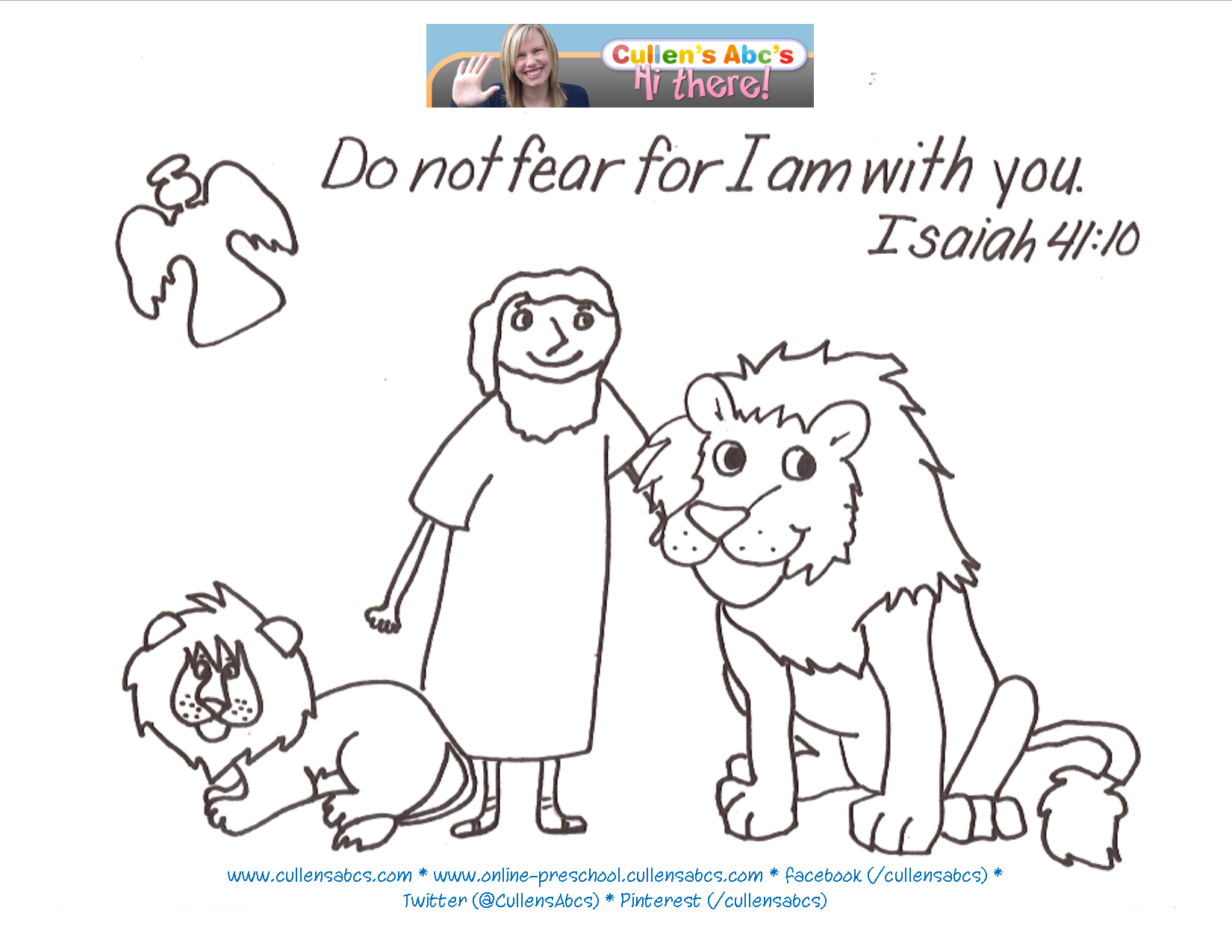 Click Here For A PDF Version Of This Coloring Sheet