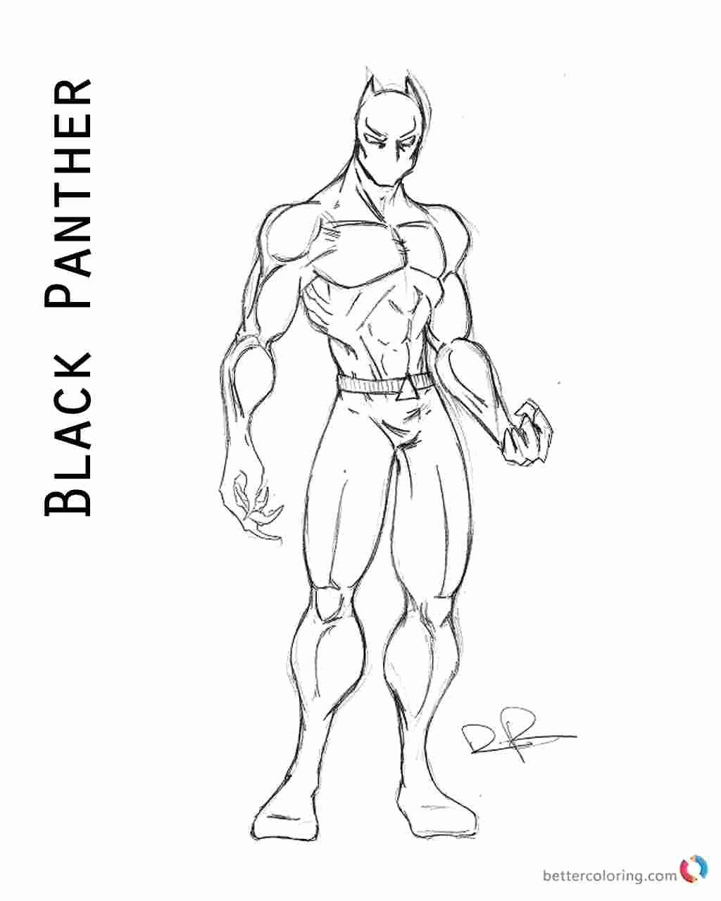 Superhero Free Coloring Pages Inspirational Black