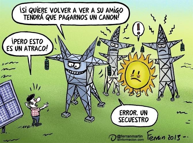 Resultado de imagen de Viñeta: Secuestrando al Sol, de Ferrán Martín 2013