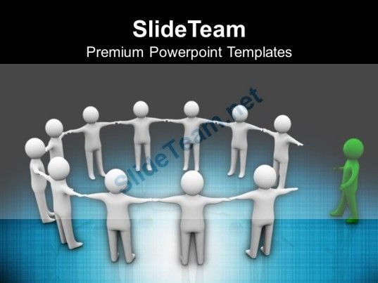 3d Man Joining Team Leadership PowerPoint Templates PPT Themes And - science powerpoint template