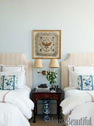 In The Guest Room Northampton Stripe Headboards From Hinson