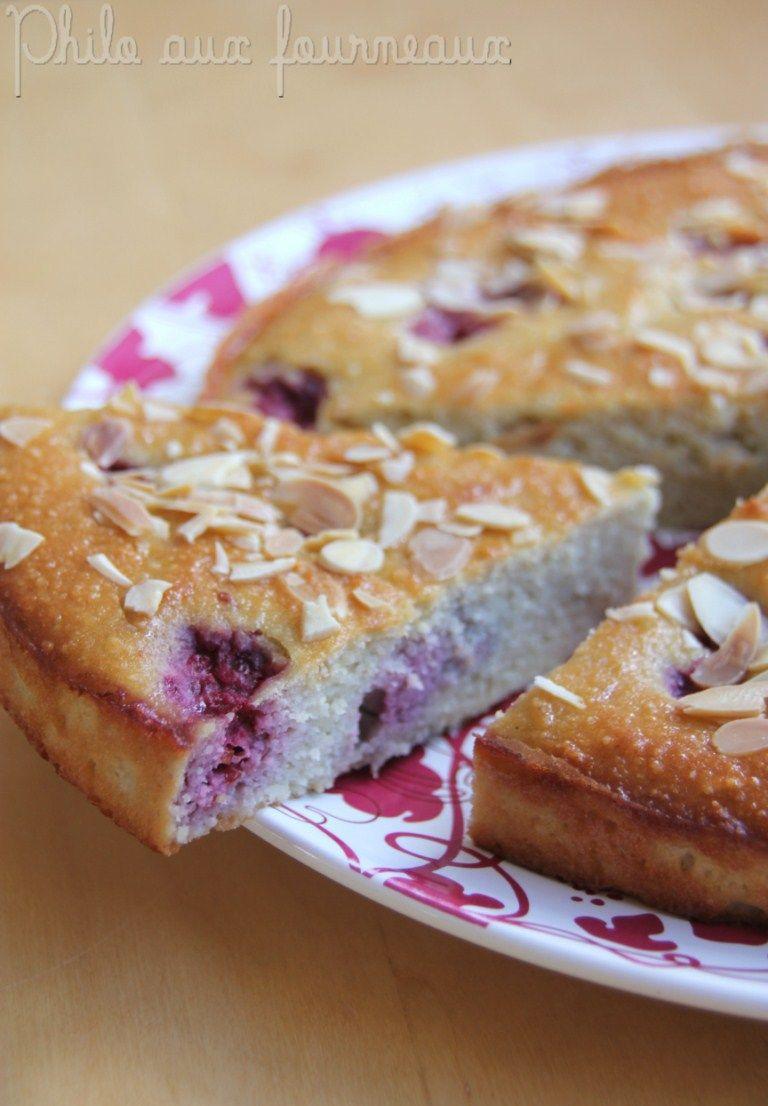 Philo aux fourneaux: Gâteau amandes, framboises & ricotta