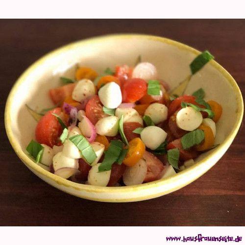 Kleine salate vorspeise