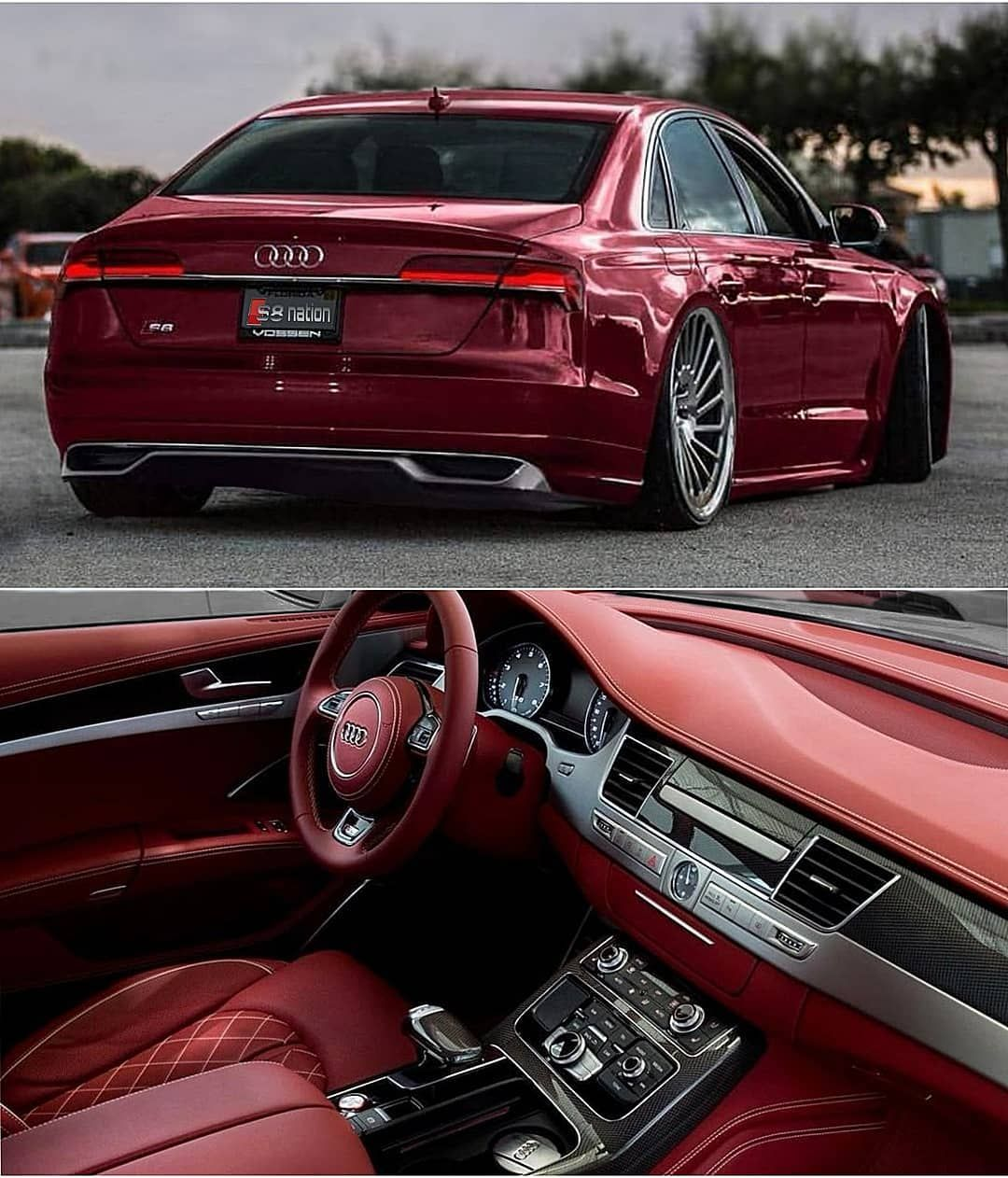 """Official Audi A8 Fan Pageℹ️ on Instagram: """"Exclusive S8 🤤 Follow our Page-@q8_nation ____________________________ . . My Car 👉🏻 @ba8gd_w12"""""""