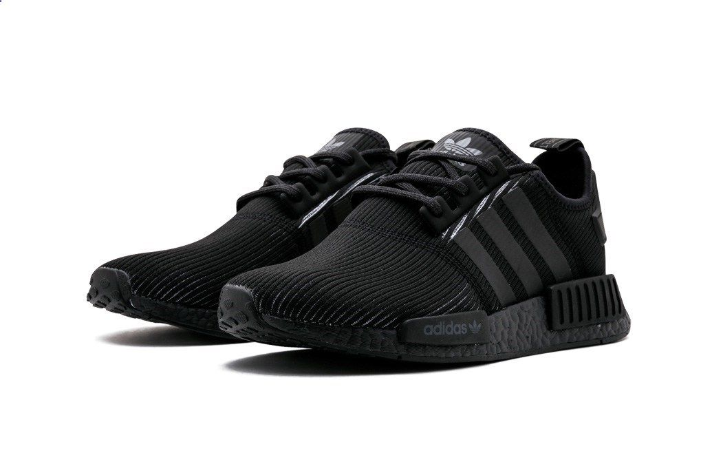 \u0027Triple Black\u0027 Adidas NMDs with a corduroy upper are appearing in sneaker  stores now.