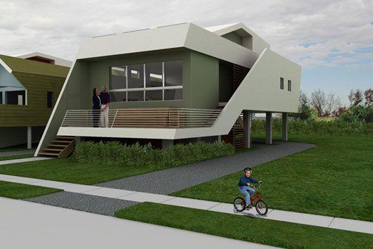 Small Futuristic Home Plans Cool Duplex Design Futuristic Home Architecture