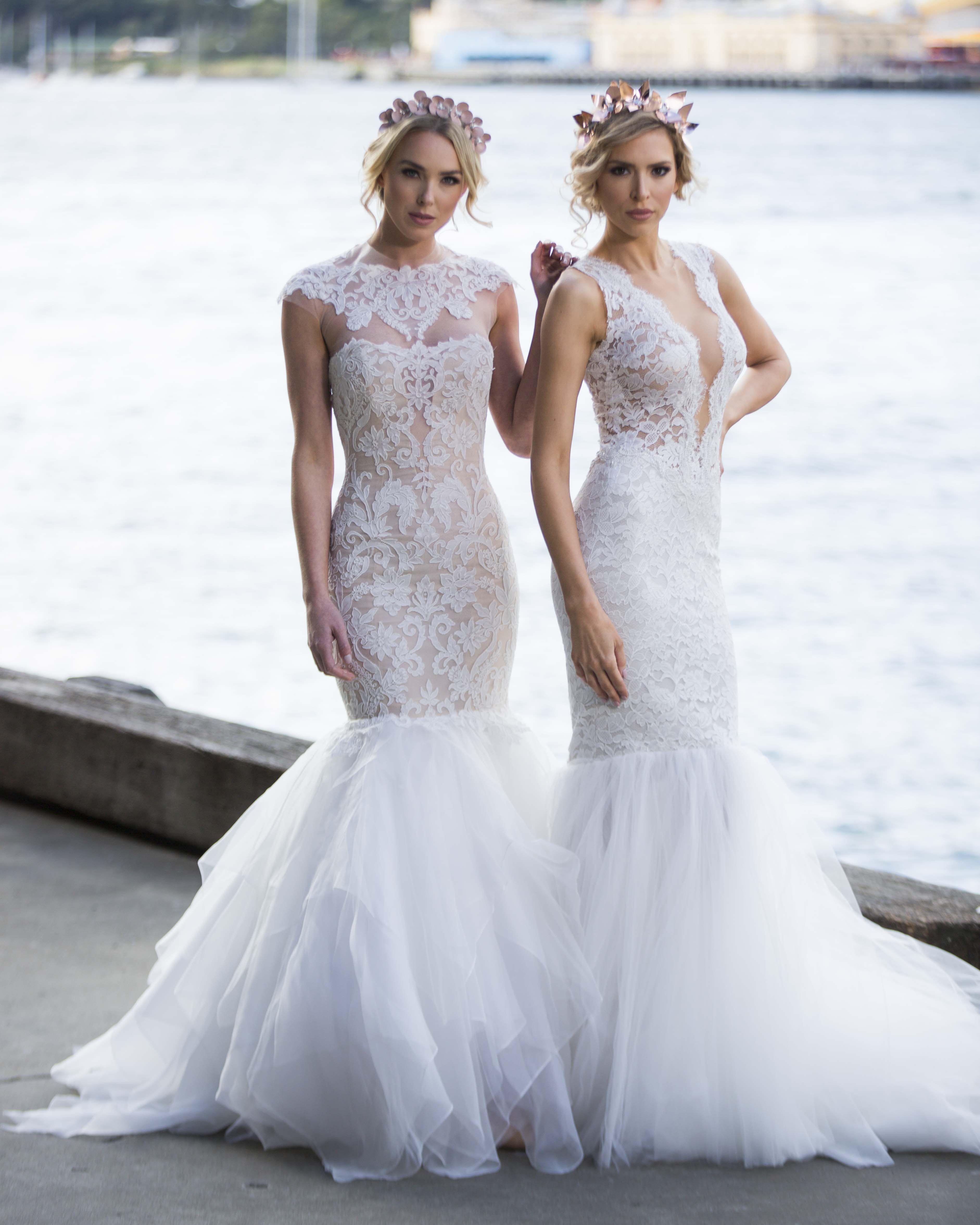 Beach wedding looks  Gorgeous Sydney Photo shoot by eternalbridal featuring Ines by Ines