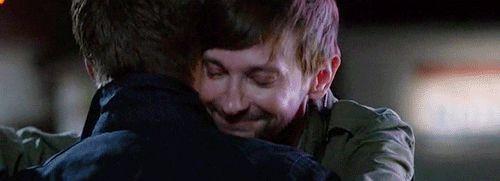Such a hugger...