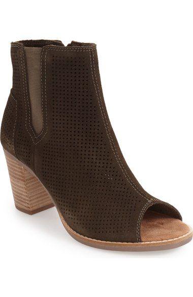TOMS Majorca Suede Bootie- Nordstrom  97.95. Fall Winter ShoesWomens ... 82f7d87434