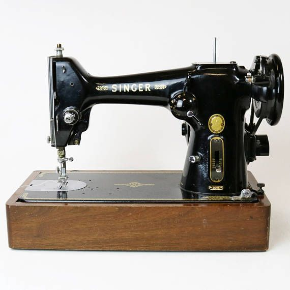 Vtg 40 Singer 40K Industrial Strength Sewing Machine Antique Awesome 1953 Singer Sewing Machine