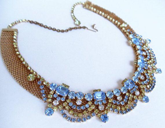 Vintage Hattie Carnegie Necklace Mid by WinterCamelliaGarden