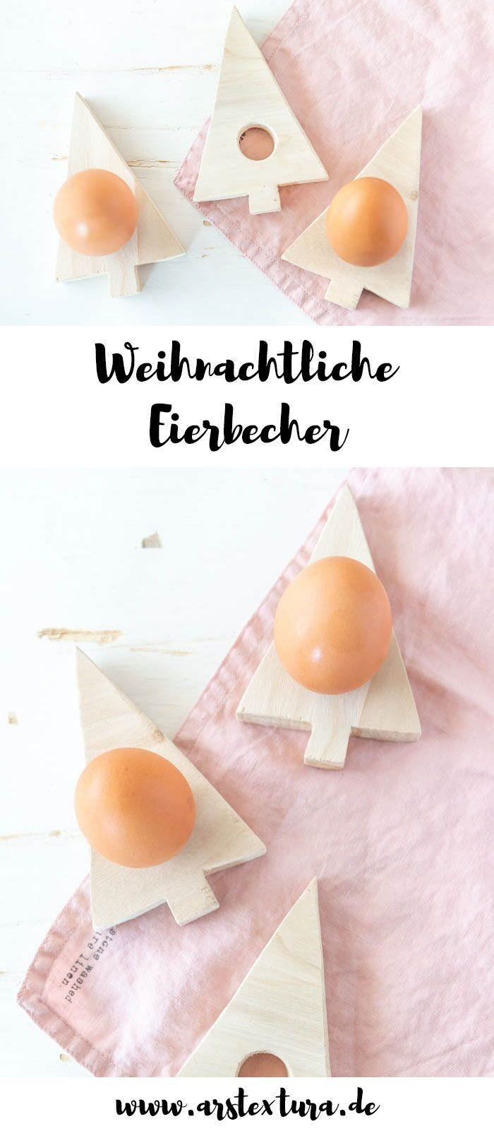 DIY Tannenbaum Eierbecher | ars textura – DIY-Blog