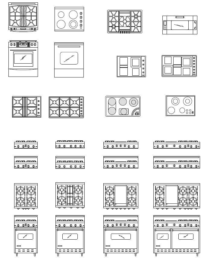 Archblocks Autocad Range Block Symbols Autocad Arquitetura E