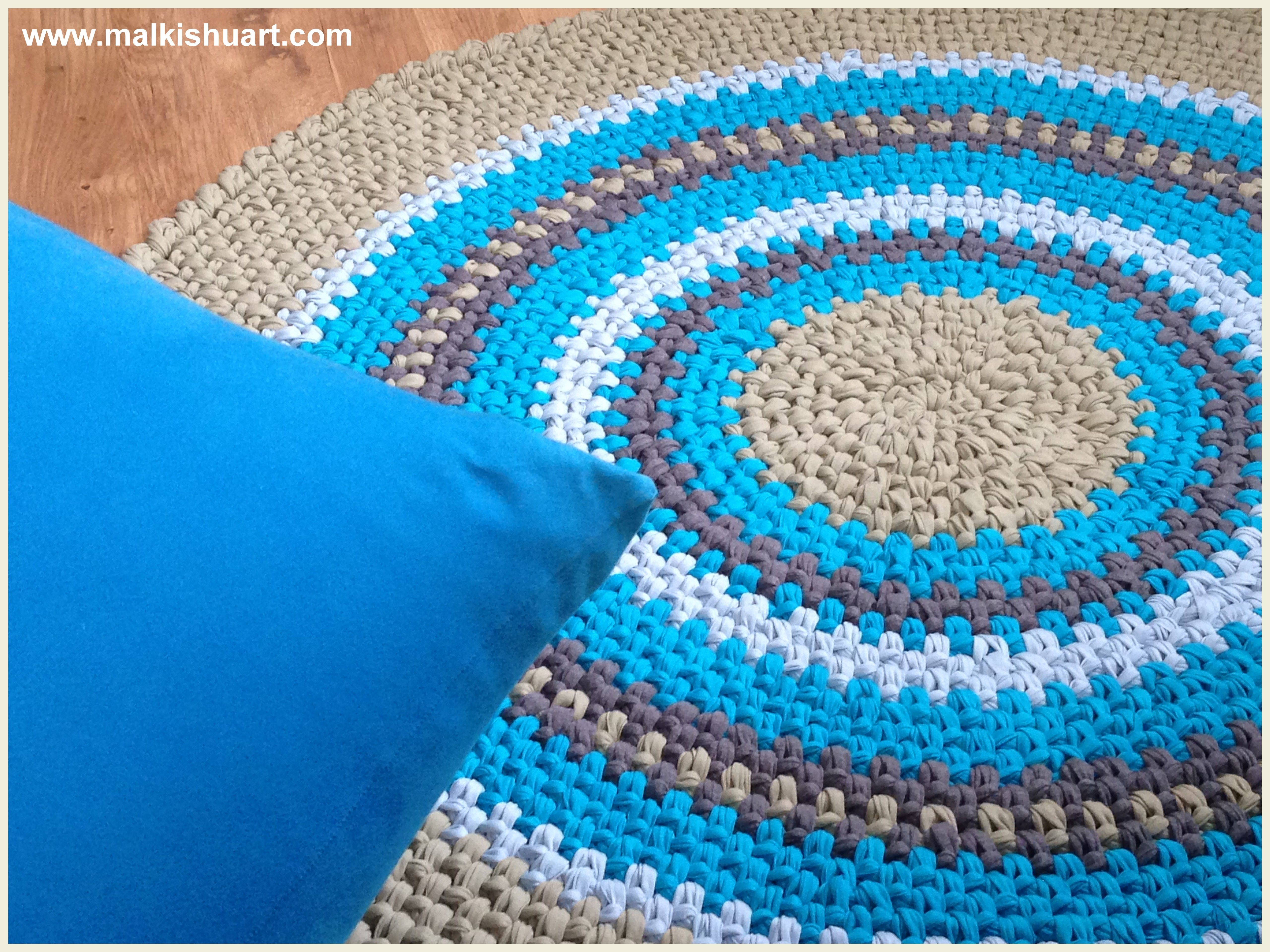 images about Crochet Baskets And Rugs Crochet