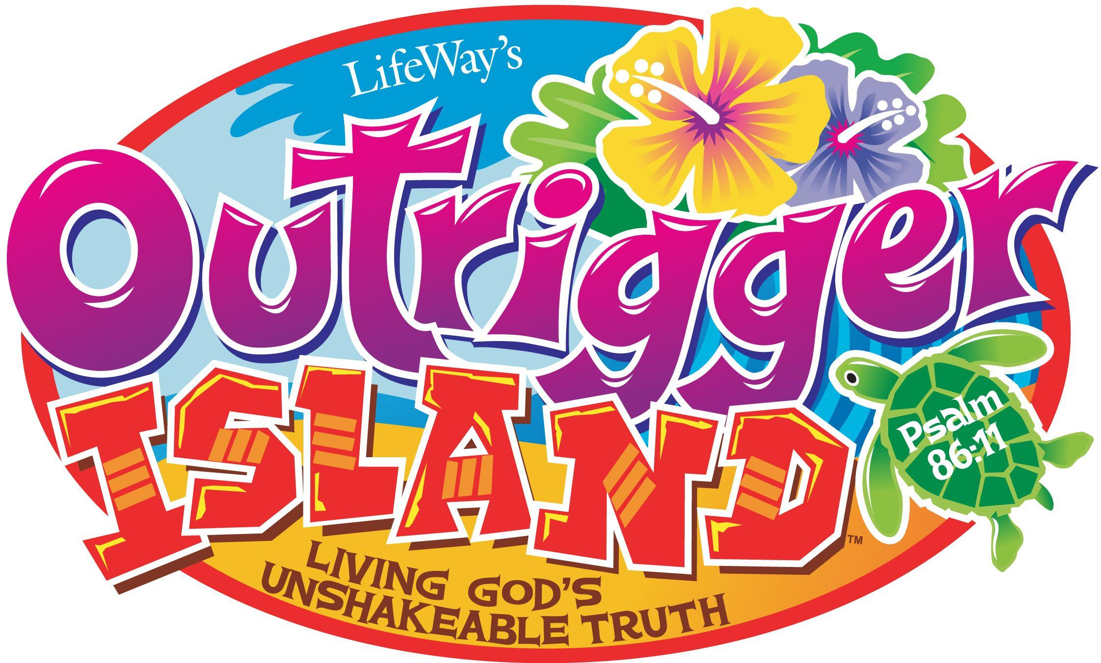 outrigger island vbs logo vacation bible school 2015 pinterest rh pinterest com